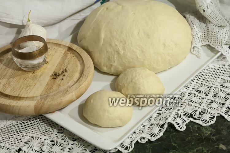 Рецепт Дрожжевое тесто на гусиных яйцах
