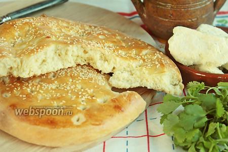 Хлебная лепёшка на минералке