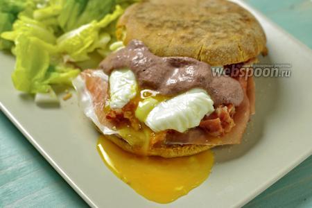 Яйца Бенедикт по-итальянски