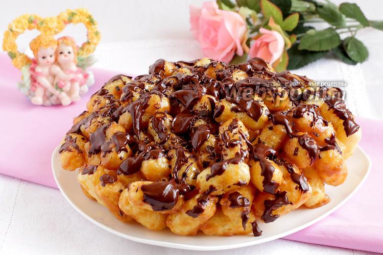 Рецепт Торт из кукурузных палочек