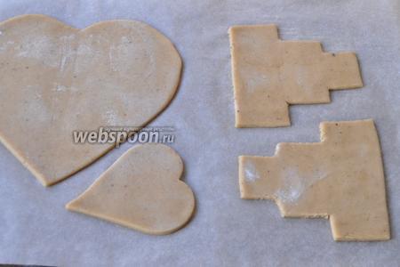 Выкладывать изделия на пекарскую бумагу и выпекать при 170-180 градусах 10 минут.