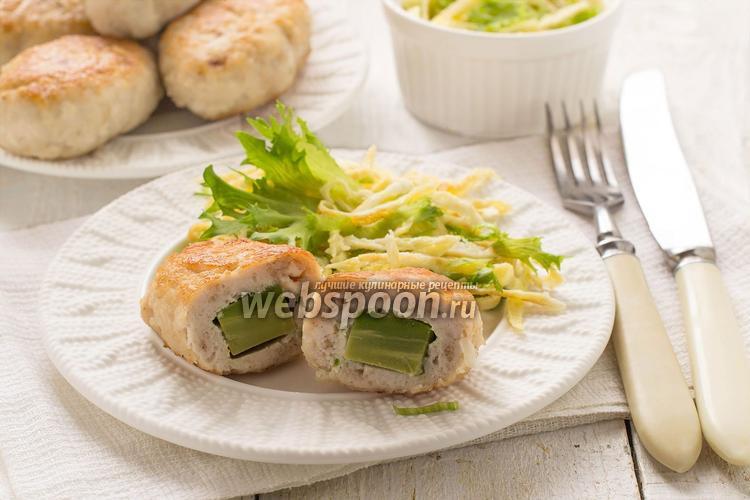 Фото Куриные зразы с авокадо