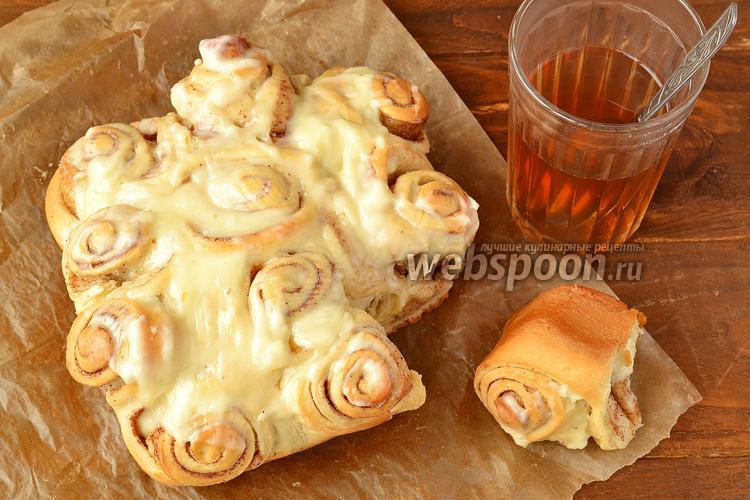 Рецепт Булочки «Синнабон»