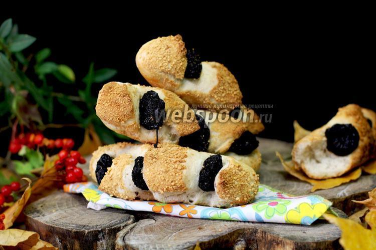 Рецепт Булочки с черносливом, в хлебопечке