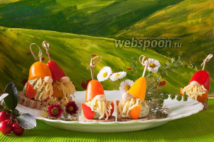 Рецепт Детское канапе с сыром