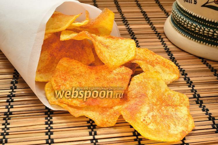 Рецепт Домашние картофельные чипсы