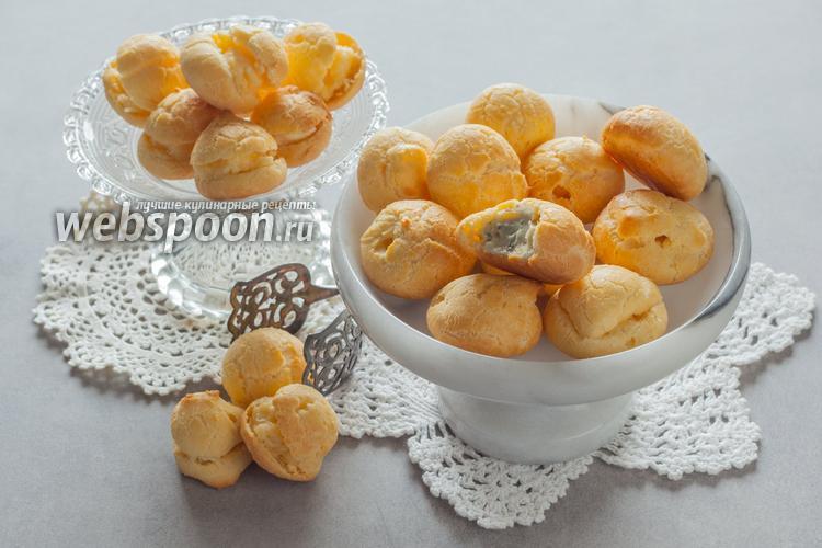 Рецепт Эклеры домашние с сыром