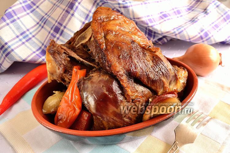 Рецепт Клефтико по-кипрски (баранина в горшочках)