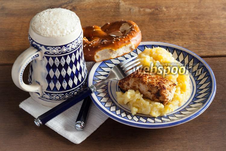 Рецепт Баварские колбаски «Wollwurst»