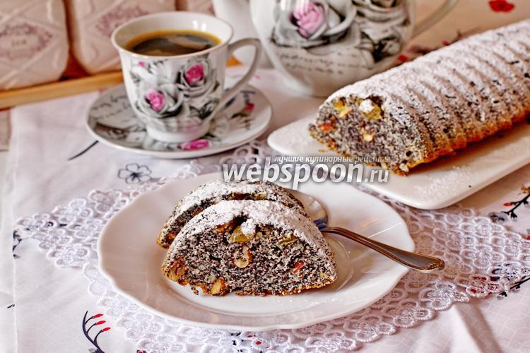 Рецепт Кекс с маком, орехами и изюмом