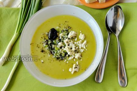 Суп-пюре с горохом орегон
