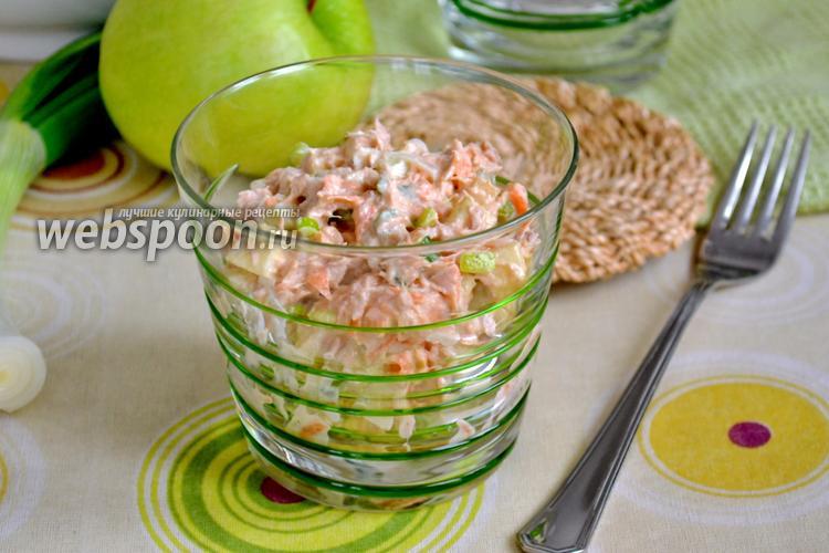 Рецепт Американский салат с тунцом