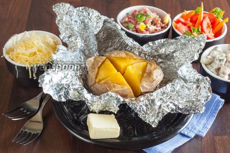 «Крошка-картошка» запечённая в духовке