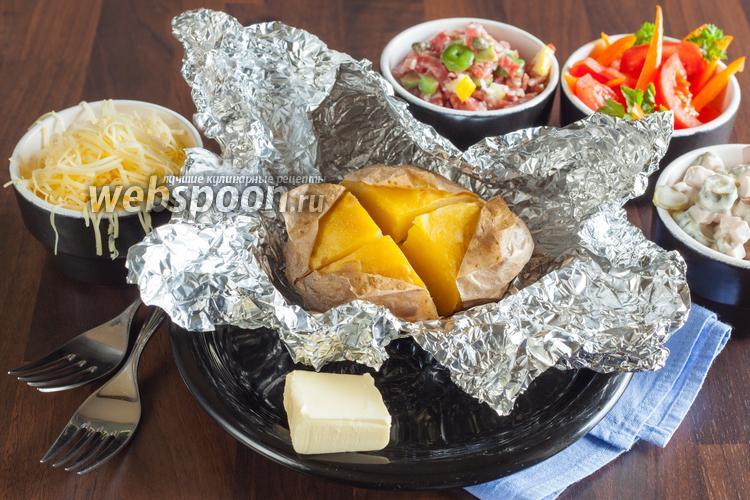 Рецепт «Крошка-картошка» запечённая в духовке