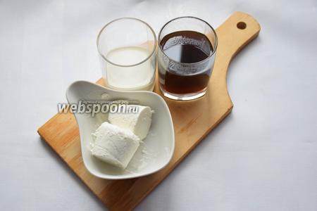 Всё, что нам понадобится это: кофе, сливки, мороженое и сахар для тех, кто любит послаще! Я не добавляю!