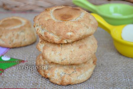 Овсяное печенье на кленовом сиропе