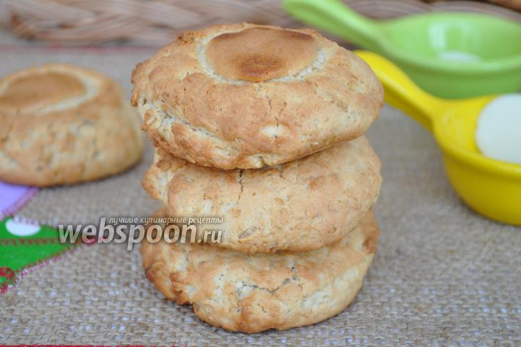 Фото Овсяное печенье на кленовом сиропе