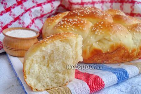 Хлеб на кефире в духовке