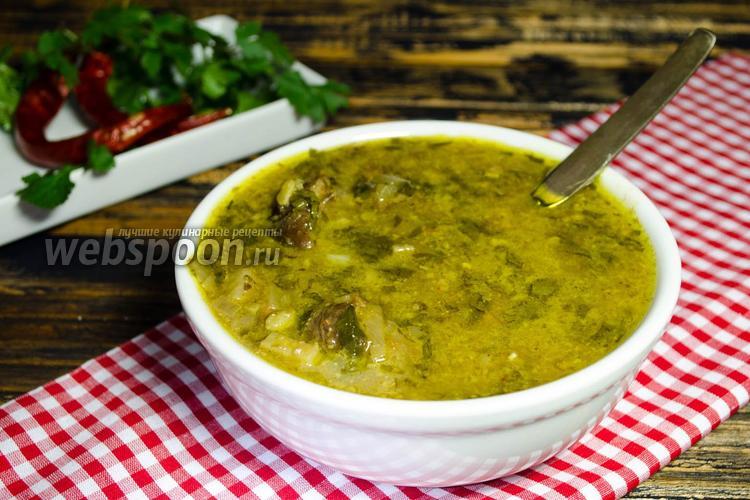 Рецепт Суп харчо с курицей
