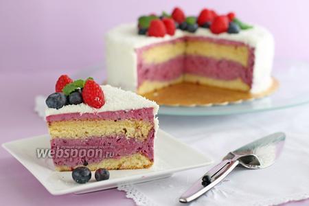Торт «Ягодно-муссовый»