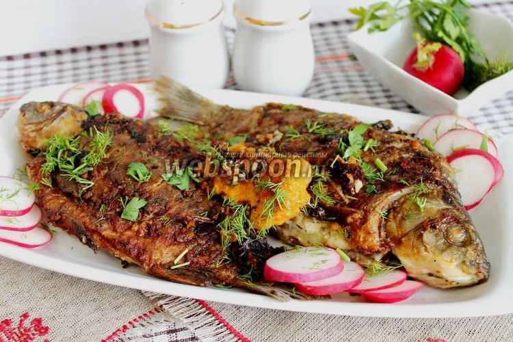 Рецепт Караси в маринаде жареные