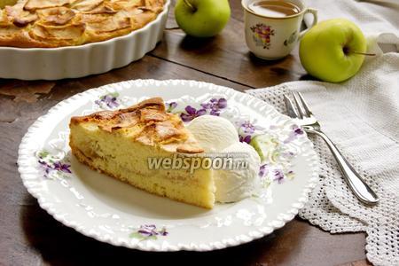 Дорсетский яблочный пирог