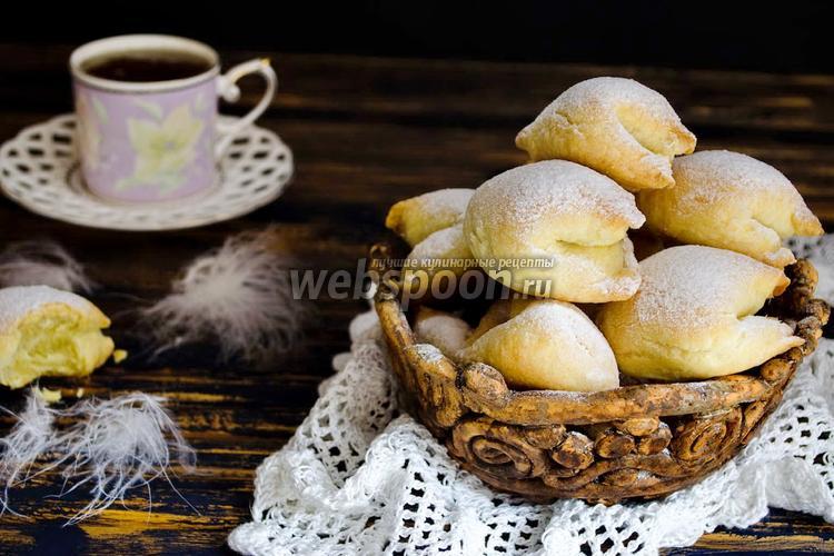 Рецепт Печенье «Подушечки» с яблочной начинкой