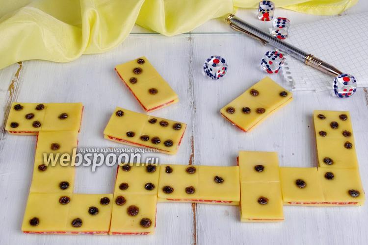 Рецепт Бутерброды «Домино»