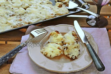 Запечённый картофель под соусом бешамель