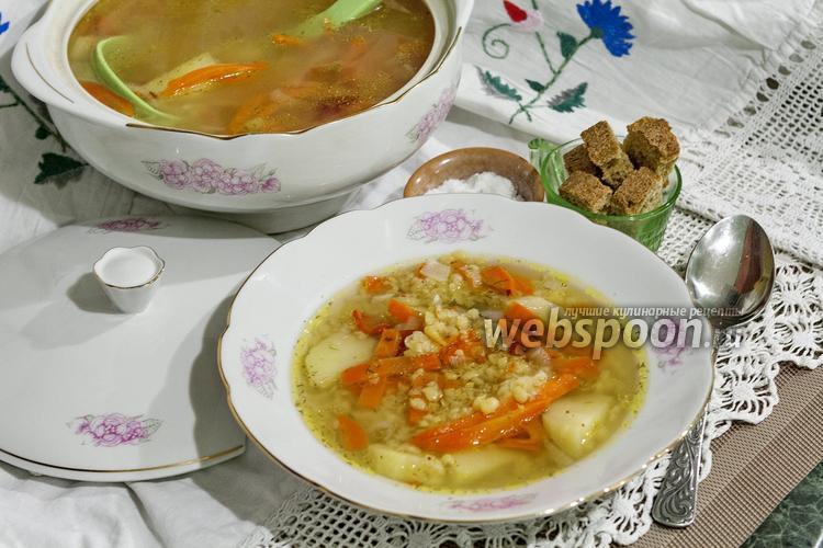 Рецепт Суп гороховый постный в мультиварке
