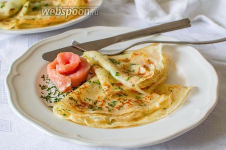 Подайте их тёплыми с солёной красной рыбой или рыбным паштетом. Приятного аппетита!