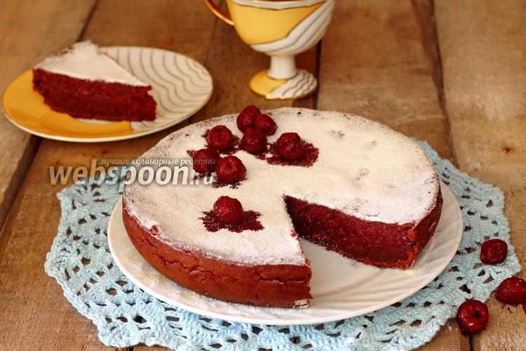 Рецепт Постный вишнёво-шоколадный кекс в мультиварке
