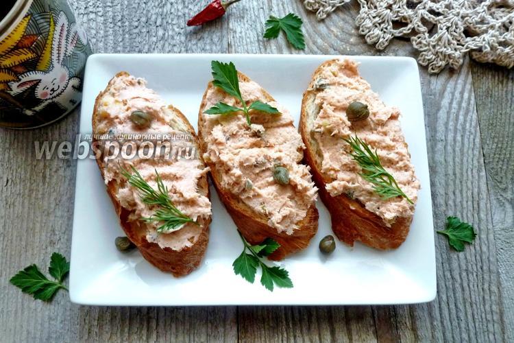 Рецепт Паштет из кижуча и куриной грудки