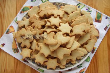 Печенье выпекаем до золотистого цвета, затем достаём и остужаем, и можно кушать. Приятного аппетита!