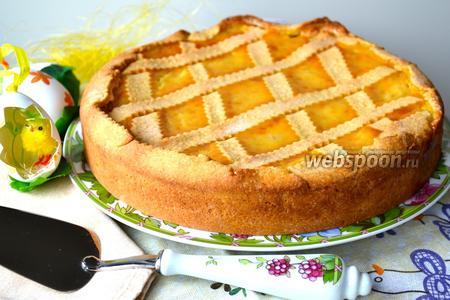 Неаполитанский пасхальный пирог