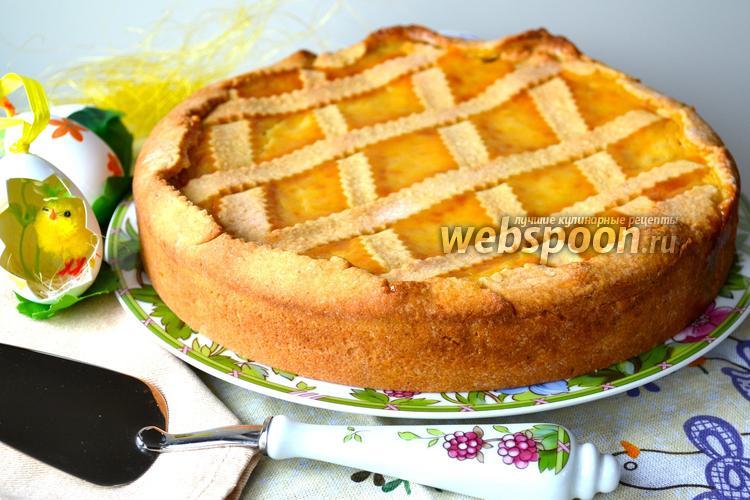 Фото Неаполитанский пасхальный пирог