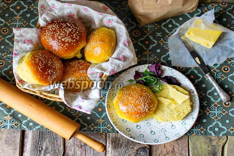 Рецепт Cдобные булочки для бургеров