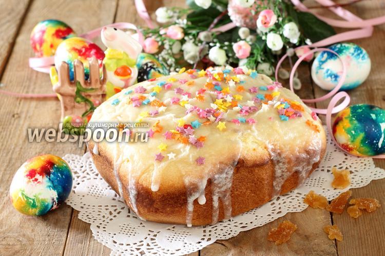 Фото Творожный кулич в хлебопечке