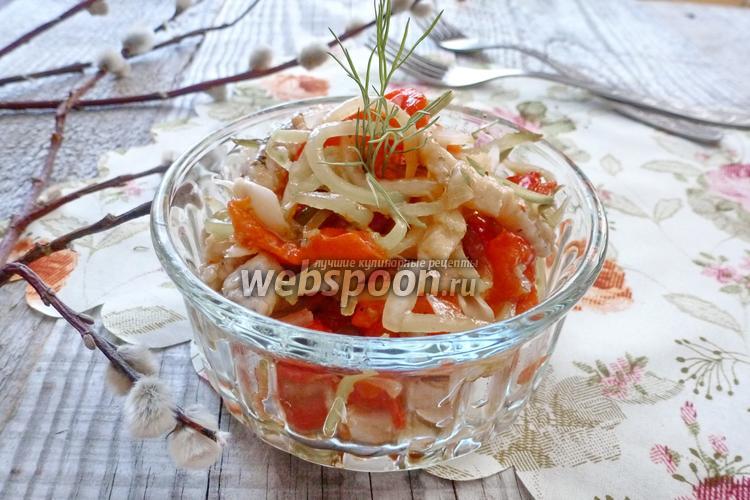 Рецепт Салат «Визит в Сеул»