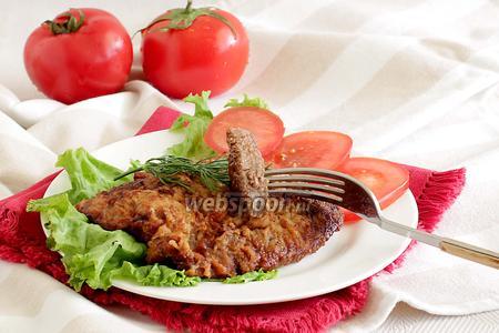 Отбивные из говядины в соево-луковом маринаде