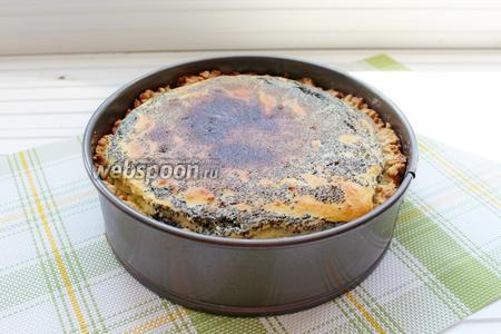 Готовый пирог полностью остудить и затем вынуть из формы. Приятного чаепития!!!