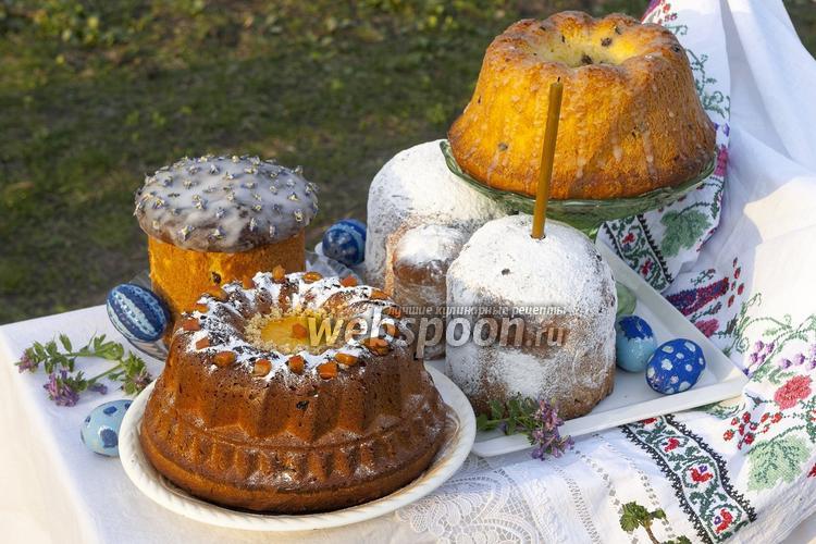 Рецепт Кулич из венского дрожжевого теста