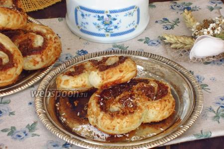 Пирожное «Пальмира» с кокосом и шоколадом