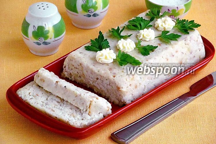 Рецепт Рыбный паштет с творогом