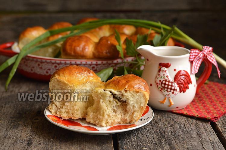 Фото Пирожки с консервированным горошком, рисом и сардинами