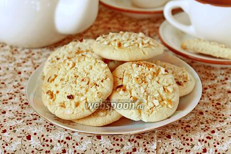 Рассыпчатое печенье с фундуком