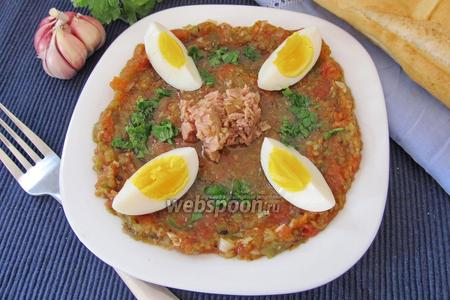Тунисский салат Мешуя