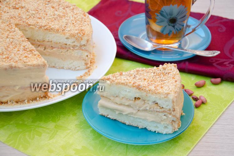 Рецепт Торт с арахисовым пралине