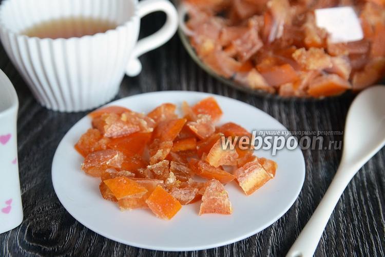 Фото Цукаты из грейпфрута