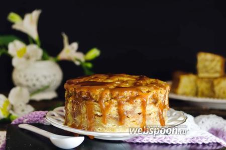 Мраморный карамельный кекс на сыворотке